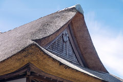 Traditional Japanese House Roof Stock Images