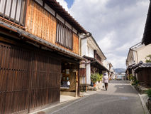 Traditional Japanese houses Royalty Free Stock Images