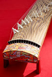 Traditional Japanese instrument. Traditional Japanese koto (Japanese traditional instrument Stock Photography