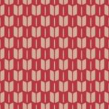 Traditional japanese kimono pattern. Seamless vector illustration. Traditional japanese kimono pattern. Yabane - arrow feathers motif. Warm colors. Seamless Stock Photos