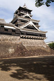 Traditional Japanese Kumamoto castle Royalty Free Stock Image
