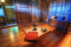 Traditional Japanese Living Room Royalty Free Stock Images