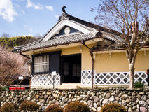 Traditional Japanese merchant house Royalty Free Stock Image
