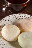Traditional Japanese mochi Royalty Free Stock Images