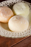 Traditional Japanese mochi Stock Images