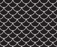 Traditional, japanese pattern black and white style background. Stock Photography