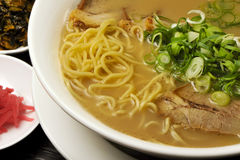 Traditional Japanese ramen royalty free stock images