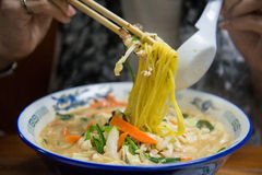 Free Traditional Japanese Ramen Stock Photography - 54520622