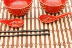 Traditional japanese restaurant utensil Stock Photography