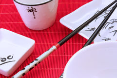 Traditional japanese restaurant utensil Stock Image