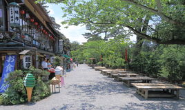 Traditional Japanese restaurants in Kanazawa Stock Image