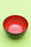 Traditional japanese rice bowl Stock Photography