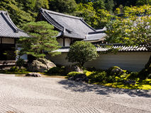 Traditional Japanese Rock Garden Stock Photos