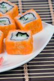 Traditional japanese rolls Royalty Free Stock Image