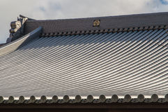 Traditional japanese roof Royalty Free Stock Photo