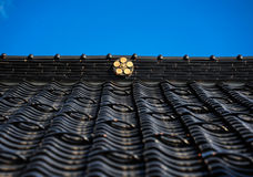 Traditional japanese roof Royalty Free Stock Images