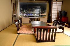 Traditional Japanese room Stock Photo