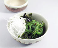 Traditional japanese salad Royalty Free Stock Photography