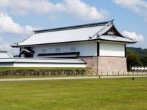 Traditional Japanese samurai castle in Kanazawa Stock Image