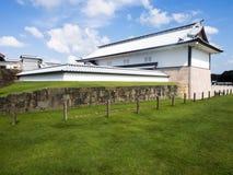 Traditional Japanese samurai castle in Kanazawa Royalty Free Stock Photography
