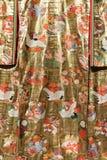 Traditional Japanese Samurai dress. Kimono costume for man and woman. Geisha clothing. Royalty Free Stock Photo