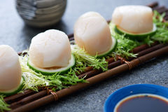 Traditional Japanese seafood Royalty Free Stock Photos