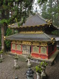 Traditional Japanese shrine and temple Royalty Free Stock Photo