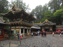 Traditional Japanese Shrines and Temples Royalty Free Stock Photos