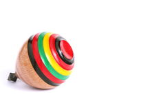Traditional Japanese Spinning Top Stock Photo