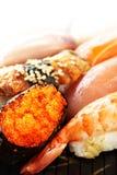 Traditional japanese sushi Royalty Free Stock Photos
