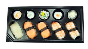 Traditional japanese sushi. Use your design Stock Photography