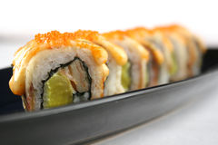 Traditional japanese sushi Royalty Free Stock Image