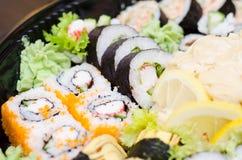 Traditional Japanese sushi Royalty Free Stock Photography