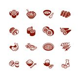 Japanese sushi-bar icons | MICRO series stock illustration