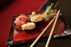 Traditional Japanese Sushi Royalty Free Stock Image