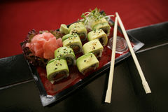 Traditional Japanese Sushi Stock Photography