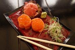 Traditional Japanese Sushi Stock Image