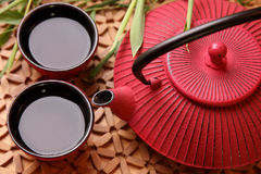 Traditional Japanese teapot Royalty Free Stock Photography