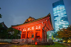 Traditional japanese temple in Tokyo Stock Photos