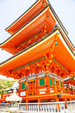 Traditional Japanese temple Royalty Free Stock Images