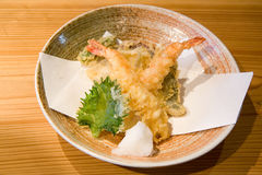 Traditional Japanese Tempura Royalty Free Stock Photos