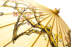 Traditional Japanese umbrella Stock Photography