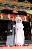 Traditional Japanese Wedding-Nikko, Japan Stock Photos