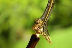 Traditional Java weapon Stock Images