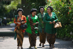 Traditional Javanese clothes Royalty Free Stock Image