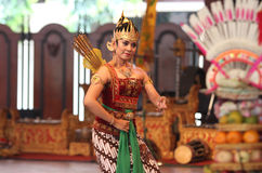 Traditional javanese dance Stock Photography