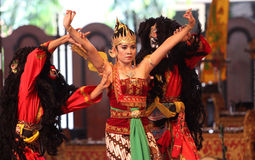 Traditional javanese dance Royalty Free Stock Photos