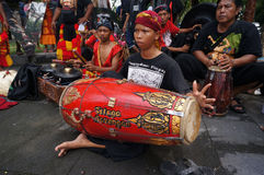 Traditional javanese music Stock Photo