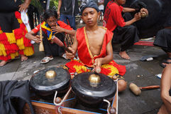 Traditional javanese music Royalty Free Stock Photo