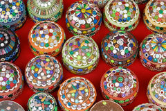 Traditional jewelry boxes in Sarajova Royalty Free Stock Photo